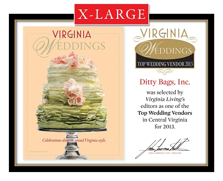 Official Top Wedding Vendors 2013 Plaque, XL (26