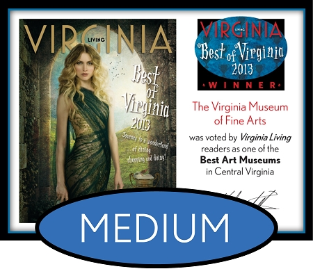 Official Best of Virginia 2013 Winner's Plaque, M (13