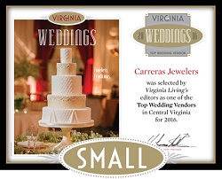 Official Top Wedding Vendors 2016 Plaque, S (9.75