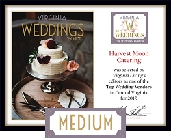 Official Top Wedding Vendors 2017 Plaque, M (13