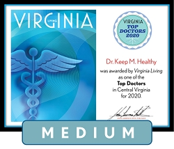 Official Top Doctors 2020 Plaque, M (13