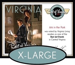 Official Best of Virginia 2014 Plaque, XL (26
