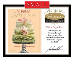Official Top Wedding Vendors 2013 Plaque, S (9.75
