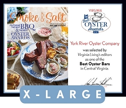 Official Best Oyster Awards 2017 Plaque, XL (26