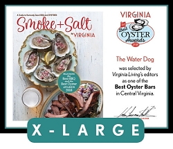 Official Best Oyster Awards 2018 Plaque, XL (26